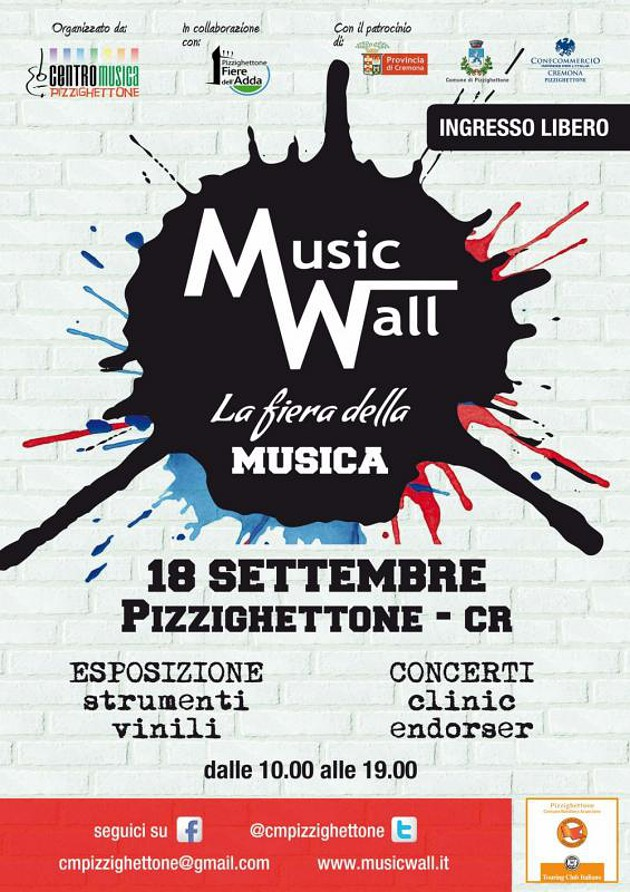 Music Wall - Pizzighettone (CR)